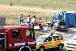 Tragická nehoda u Třemošné si vyžádala jeden lidský život.