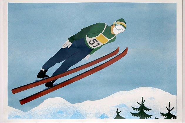 Výstava Česká zima vypráví sportovní příběhy.