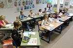 První školní den v ZŠ Cesta v Písku.