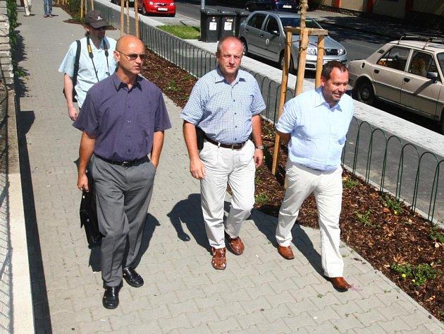 Stanislav Liška (vpravo) a Milan Sterly (vlevo)