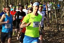 Na snímku je start mužů při loňském ročníku Běhu okolo Zámečku, Velké ceny G-teamu.