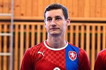 Michal Holý před prvním přátelským zápasem s Tureckem ve Zruči nad Sázavou.