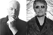 Jon Lord a Don Airey. První z nich už odešel do hudebního nebe, druhý vystoupí 22. září v plzeňské Šeříkovce