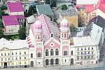 Finance půjdou také na rekonstrukci Velké synagogy. Práce budou převážně restaurátorské.