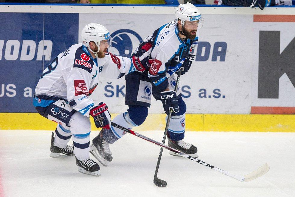 Plzeň porazila Chomutov 3:2. Vítězný gól padl těsně před koncem zápasu.
