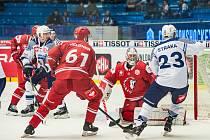 Hokejoví Indiáni z Plzně zkusí v úterní odvetě v Lausanne smazat jednogólové manko z prvního osmifinále na západě Čech.