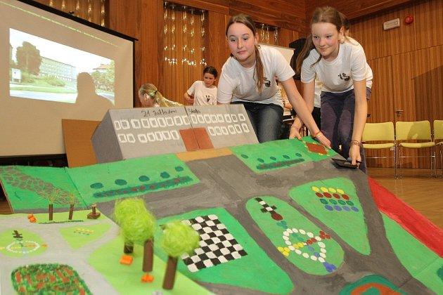 Školáci předvedli projekty zaměřené na úpravu veřejných prostranství