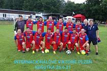 Stará garda Viktorie Plzeň.