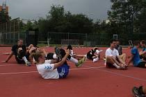 Strečink po tréninku