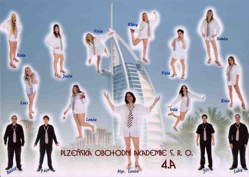 Plzeňská obchodní akademie - 4. A 3d632c38064