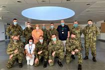 V nemocnicích pracuje téměř třicet příslušníků Armády ČR.