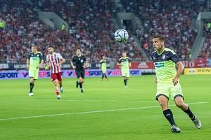 Na hřiště přišel Jan Kovařík až po přestávce, za stavu 0:1, takže je podepsaný pod třemi inkasovanými góly.