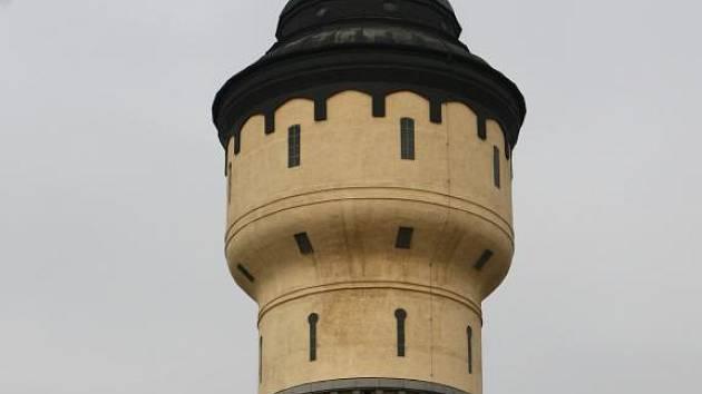 Vodárenská věž v pivovaru