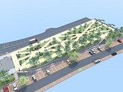 Na Jižní Předměstí by se vrátila znovu zeleň. Parkování v Hálkově ulici zůstává stejné