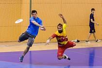 Halové MČR frisbee ultimate 2017.