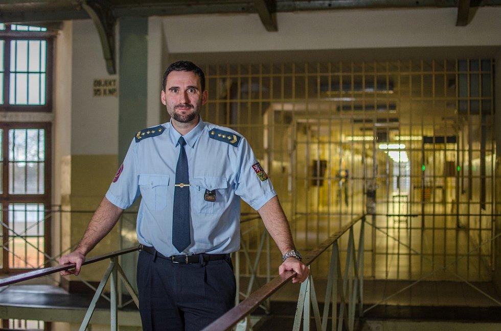 Ředitel věznice v Plzni Petr Vlk