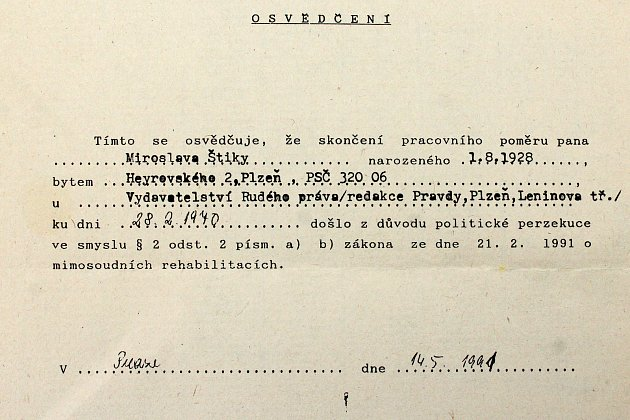 Marta Dolejšová dcera novináře Miroslava Štiky, který se vsrpnu 1968podílel na vydávání ilegálního vydávání novinového deníku Pravda.