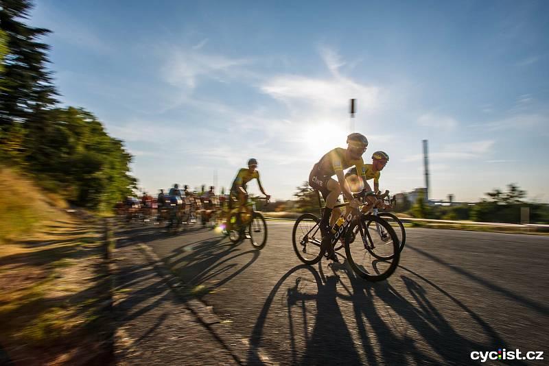 Závěrečný bodovaný závod Giant ligy  provázelo slunečné počasí.