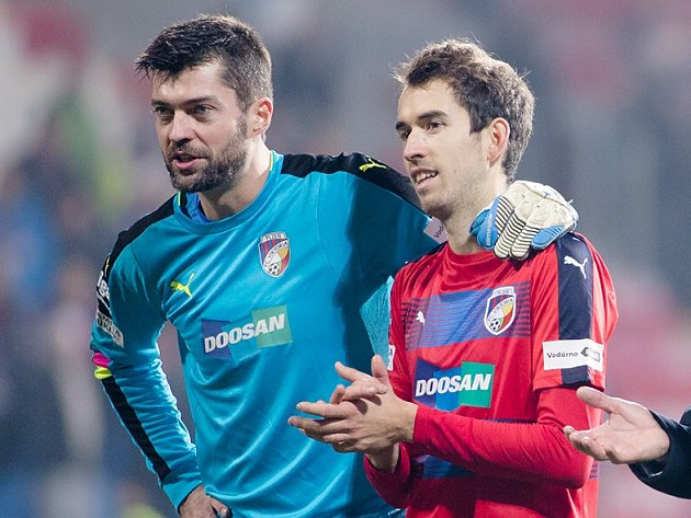 Matúš Kozáčik a Tomáš Hořava