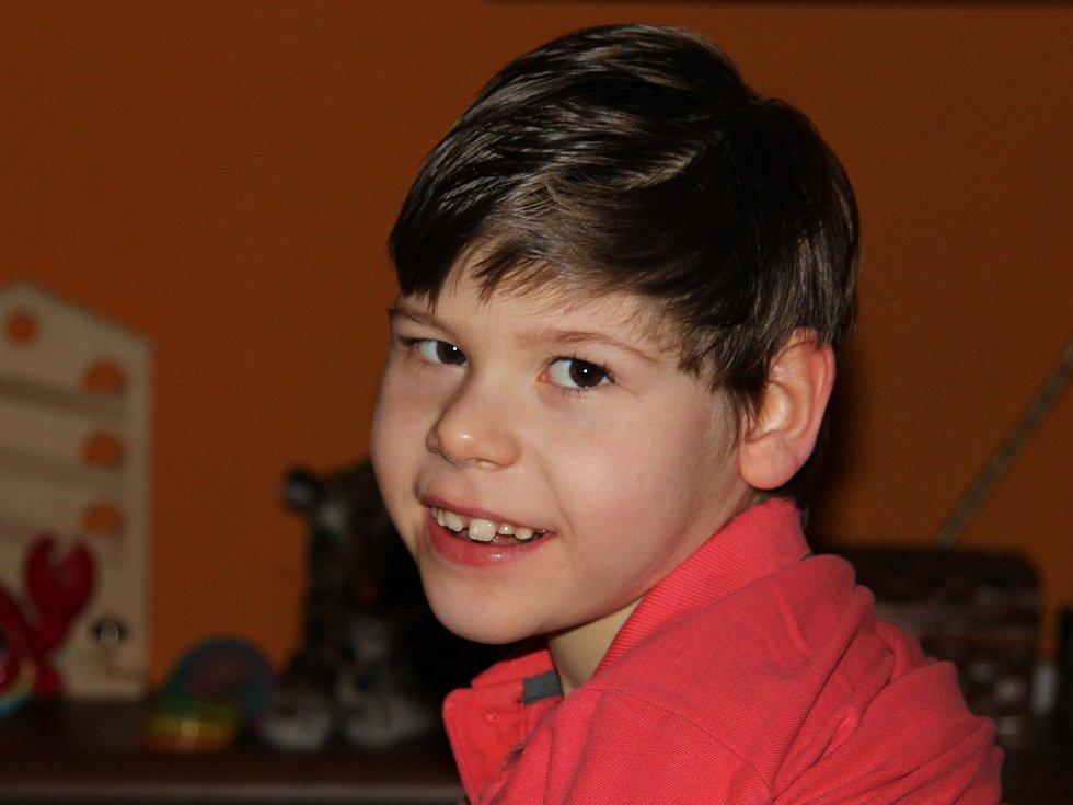 Lékaři Kubíkovi diagnostikovali dětskou mozkovou obrnu.