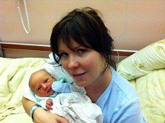 Prvorozený David (3,31 kg, 49 cm) se narodil 10. 10. v 10:41 ve FN v Plzni mamince Ivoně Kindlové a Tatínkovi Tomáši Koutnému z Plzně
