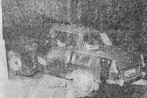 """Pravda, 4. února 1988. """"Dopravních nehod na západě Čech vloni přibylo."""""""