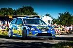 VÁCLAV PECH se i na Setkání mistrů v Sosnové u České Lípy představí s vozem Ford Focus WRC.
