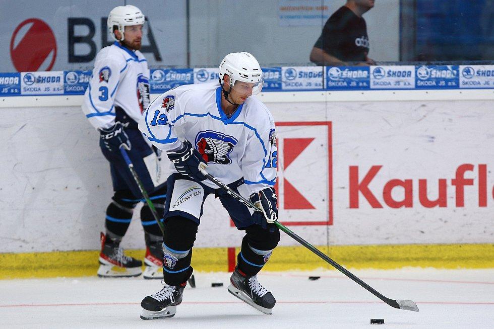 Švédský útočník Gustav Thorell už trénuje v Plzni.