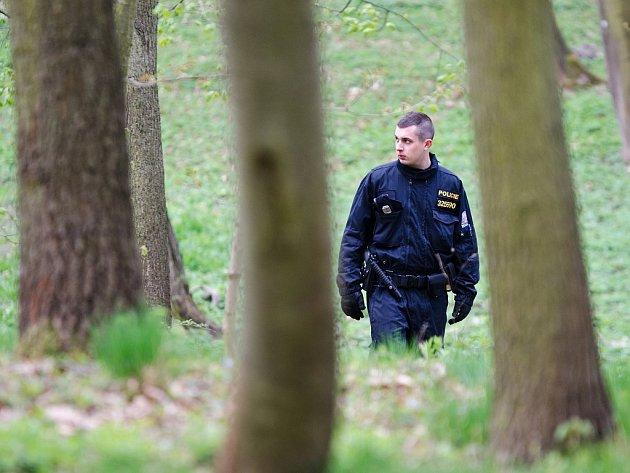 Policisté pročesávali Borský park