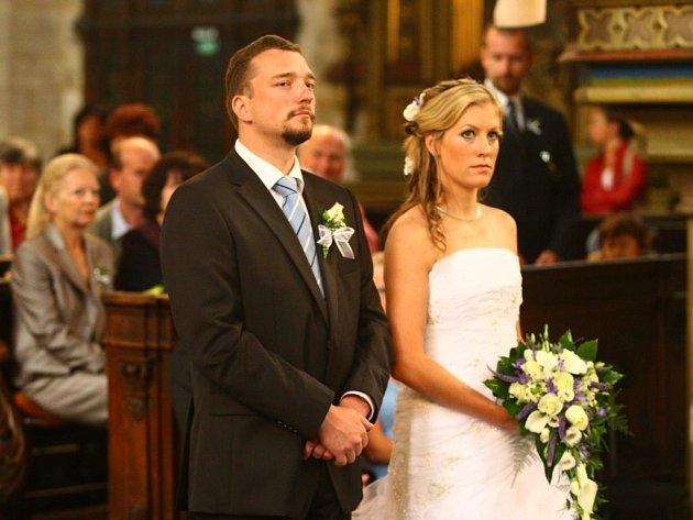 Starosta čtvrtého plzeňského obvodu Hynek Brom se oženil se svojí snoubenkou Renatou