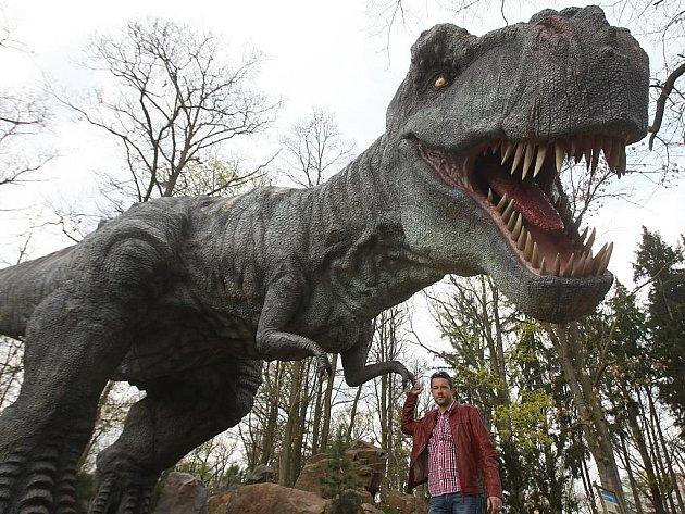 Dinopark v plzeňské zoo