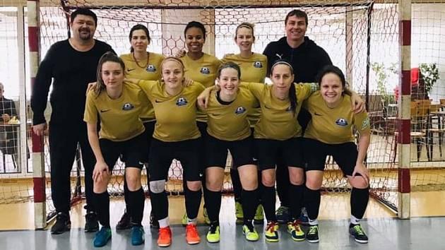 Futsalový tým Nástěnky Brno.
