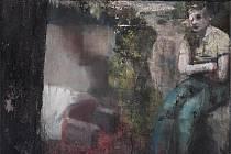"""Z malířské tvorby Josefa Bolfa, kterou představuje na nové výstavě Západočeská galerie v Plzni. Stala se tak součástí unikátního projektu """"Decadence Now!"""" s centrem v pražské Galerii Rudolfinum"""
