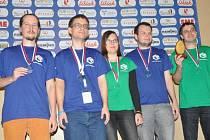 Český tým vybojoval na mistrovství světa vsudoku vytoužené zlaté medaile