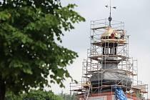 Věž sv. Floriána. Foto: Deník/Pavel Korelus