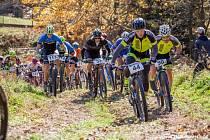 Šestý ročník Pancířských strání přitáhl na start na sto dvacet bikerů.