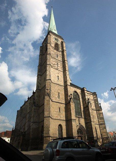 Katedrála sv. Bartoloměje vPlzni