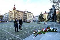 Plzeň si připomněla výročí vzniku Československa bez účasti veřejnosti