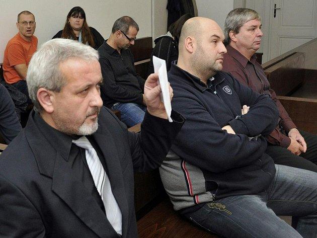 Zleva Pavol Janča, Luděk Tůma a Zdeněk Všaha
