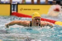 Specialiska na motýlka Kristýna Štemberová zaplavala na mistrovství Evropy osobní rekord na 100 metrů.