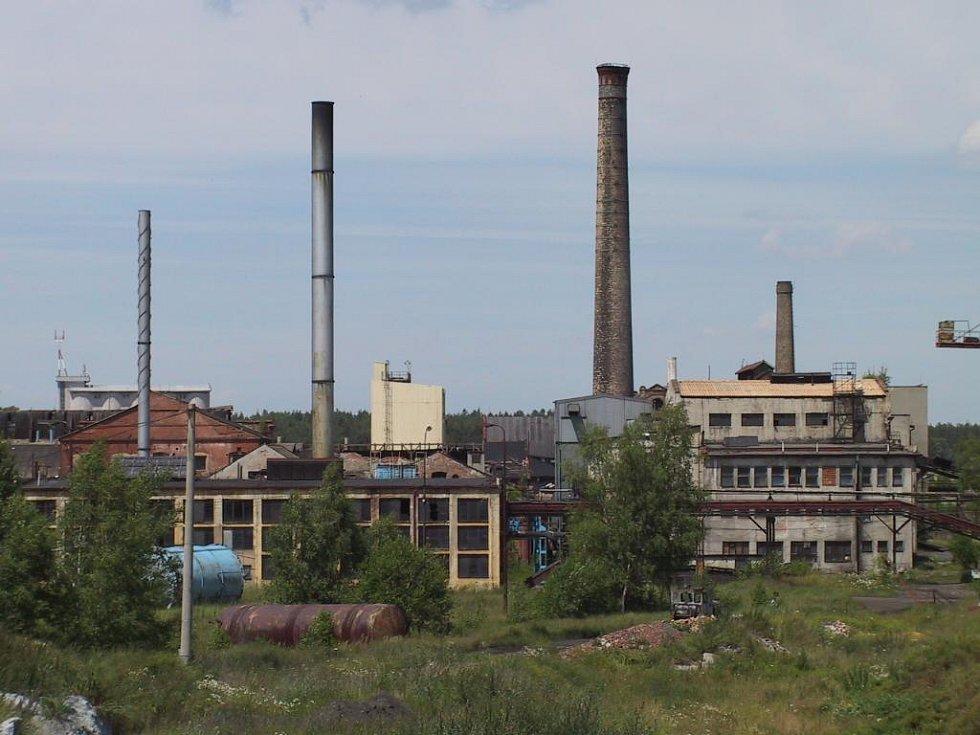 Brownfield - areál OMGD v Kaznějově