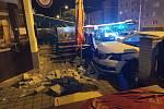 Čtvrteční nehoda na Doubravce.