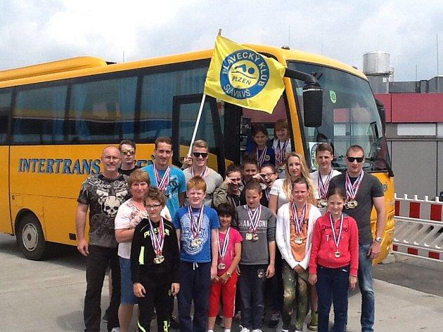 Plavci z týmu Slavia VŠ Plzeň zazářili na závodech ve Francii.