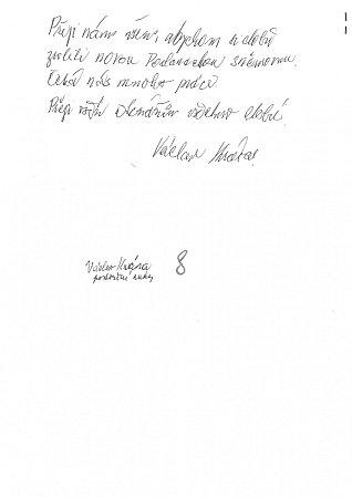 Rukopis Václava Krásy
