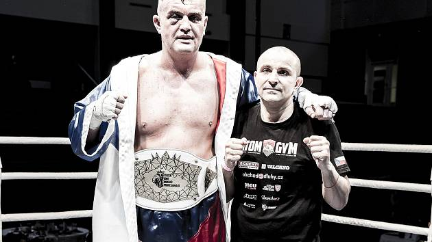 Pavel Šour s trenérem Veselinem Karagiozovem.