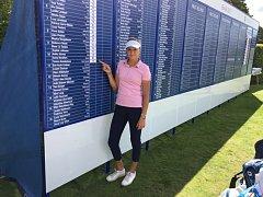 Tereza Koželuhová na Girls British Open