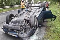 Nehoda u Dolanského mostu