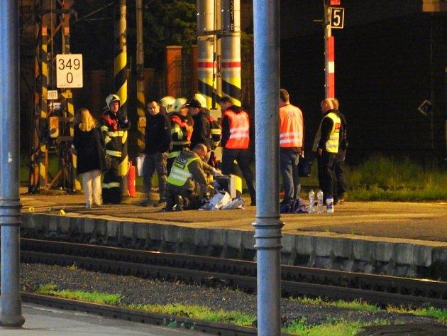 Nález mrtvého muže na hlavním vlakovém nádraží v Plzni