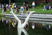 Sochařský festival Sculpture Line, sadový okruh Mlýnská strouha