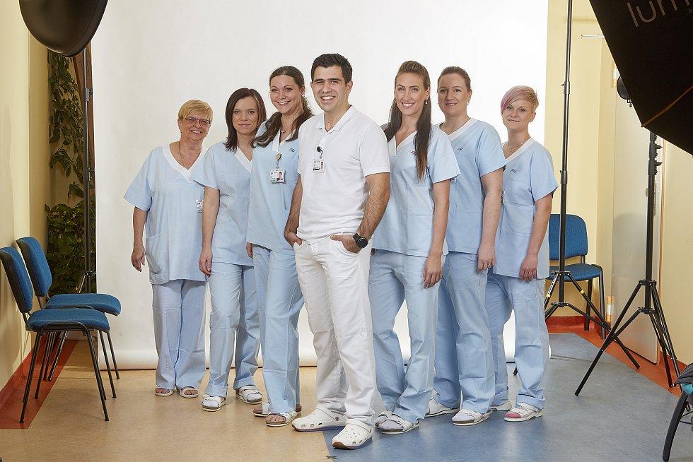 Tým plzeňské gynekologicko-porodnické kliniky
